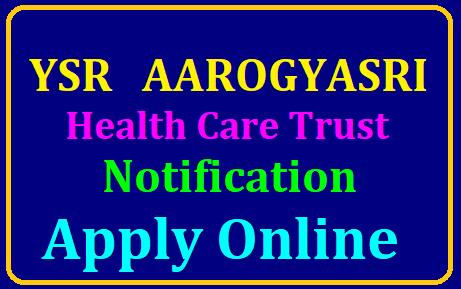 ysr aarogyasri health care trust guntur has released recruitment notification 2019 to fill various posts /2019/07/YSR-AAROGYASRI-Health-Care-Trust-NOTIFICATION-Apply-Online-ysraarogyasri.ap.gov.in.html