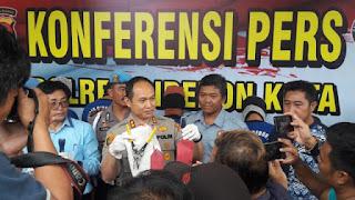 Konfersi Pers Ungkap Kasus Curas di Wilkum Polres Cirebon Kota
