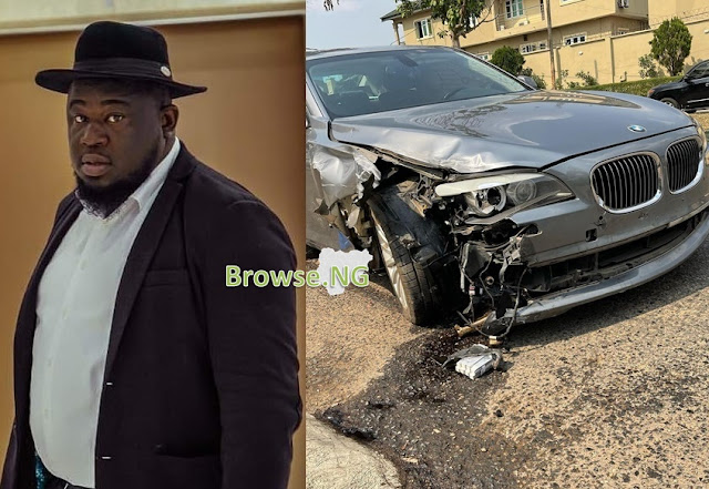 Nigerian Music Executive, Soso Soberekon Survives Tragic Accident, Gives Thanks To God