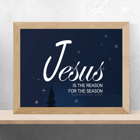 Christian wall frame,Christmas decor in Port Harcourt, Nigeria