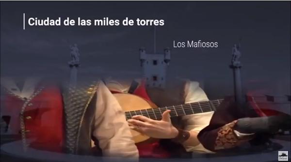 """Pasodoble con Letra """"Ciudad de las miles de torres"""". Comparsa """"Los Mafiosos"""" (2018)"""