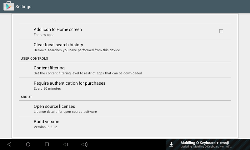 Download Google Play Store APK versi 5.2.12 [Februari 2015]