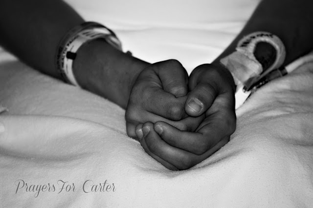 A mother's empty hands after handing off her baby to family | trisomy 13 | rosevinecottagegirls.com