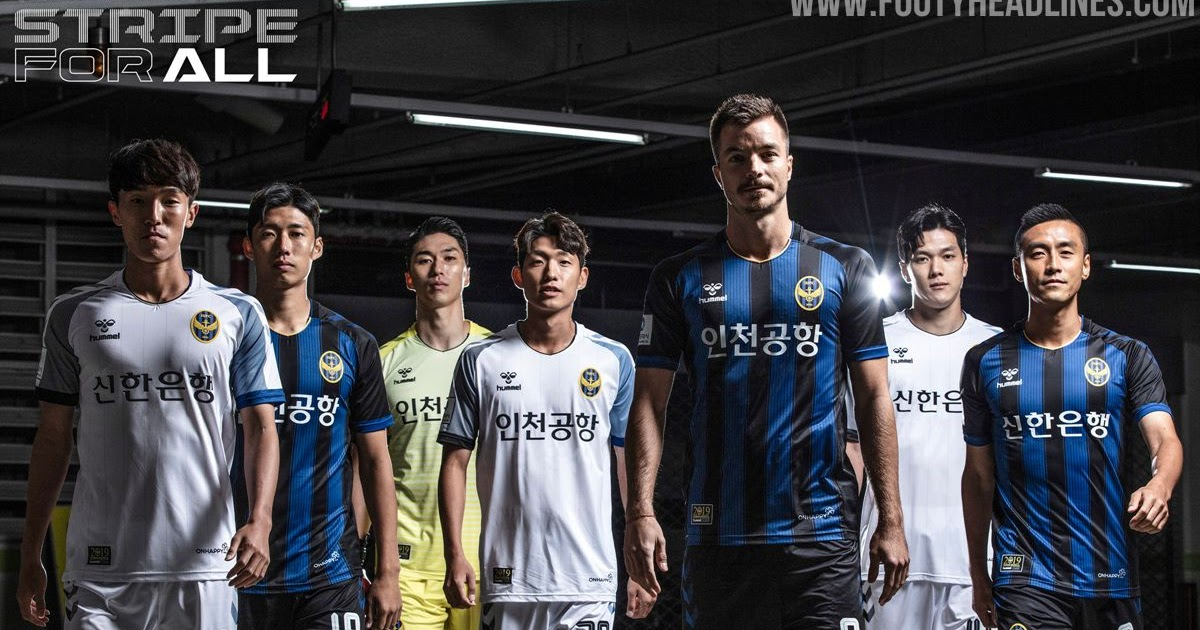 Hummel Incheon United 2019 Home Amp Away Kits Released