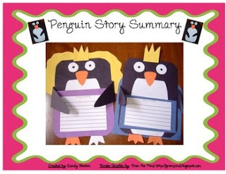 https://www.teacherspayteachers.com/Product/Cinderella-Penguin-Story-Summary-Craftivity-Use-pattern-with-any-penguin-story-227313