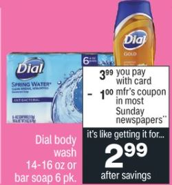 FREE Dial Body Wash CVS Deal 2/7-2/13