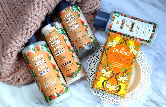 Love Beauty and Planet seria z masłem shea i olejkiem australijskiego drzewa sandałowego