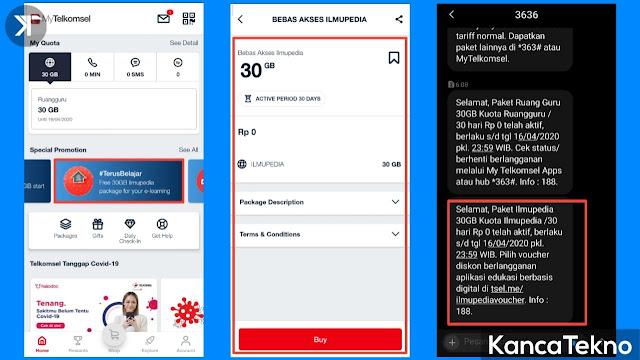 Telkomsel Bagikan Kuota Internet 60GB Scara Gratis, Begini Cara Aktivasinya