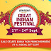 Great India Festival Sale from Amazon Start on 21st September