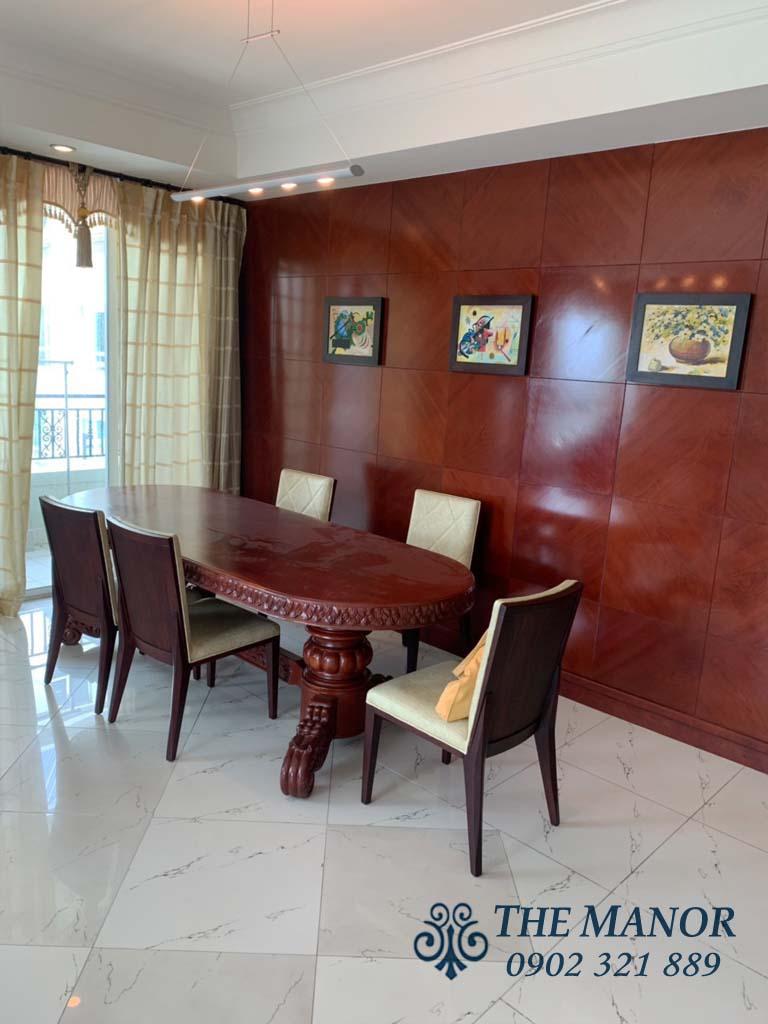 Bán căn hộ 3 phòng ngủ Manor quận Bình Thạnh 160m2 tầng cao giá 6,6 tỷ - 3
