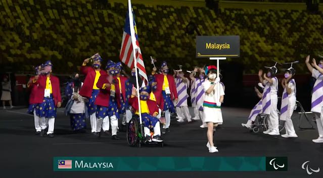 kontinjen malaysia paralimpik tokyo 2020