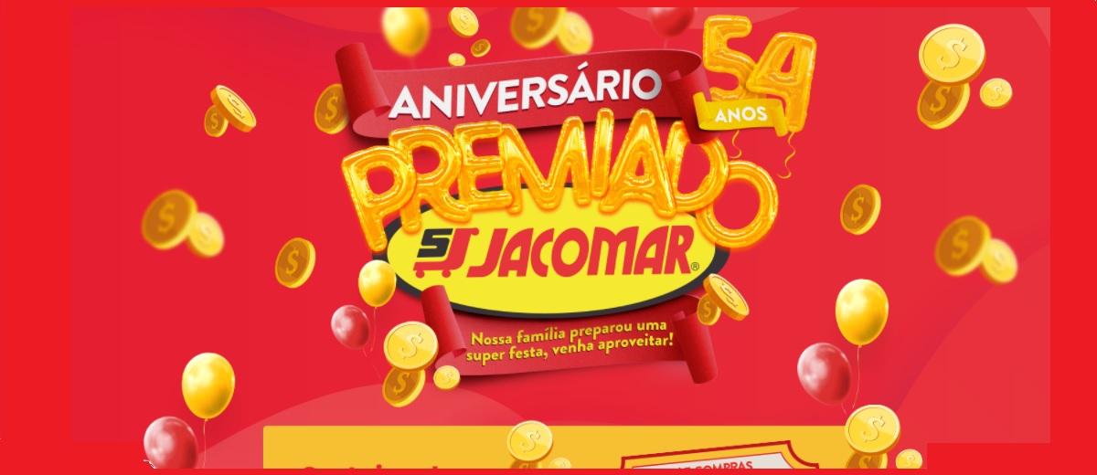 Participar Aniversário 2020 Jacomar Supermercados 54 Anos