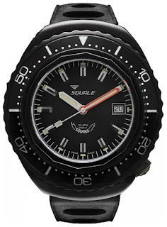 montre Squale 101 Atmos 2002 Black Case