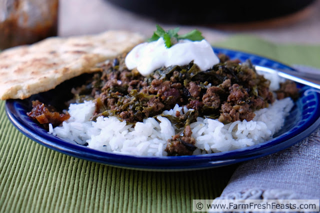 http://www.farmfreshfeasts.com/2015/06/mustard-greens-kheema-ground-beef-and.html