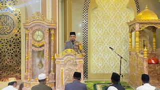 Safari Ramadhan, Kapolres AKBP Kadarislam tarwih keliling Ingatkan Prokes pada Warga