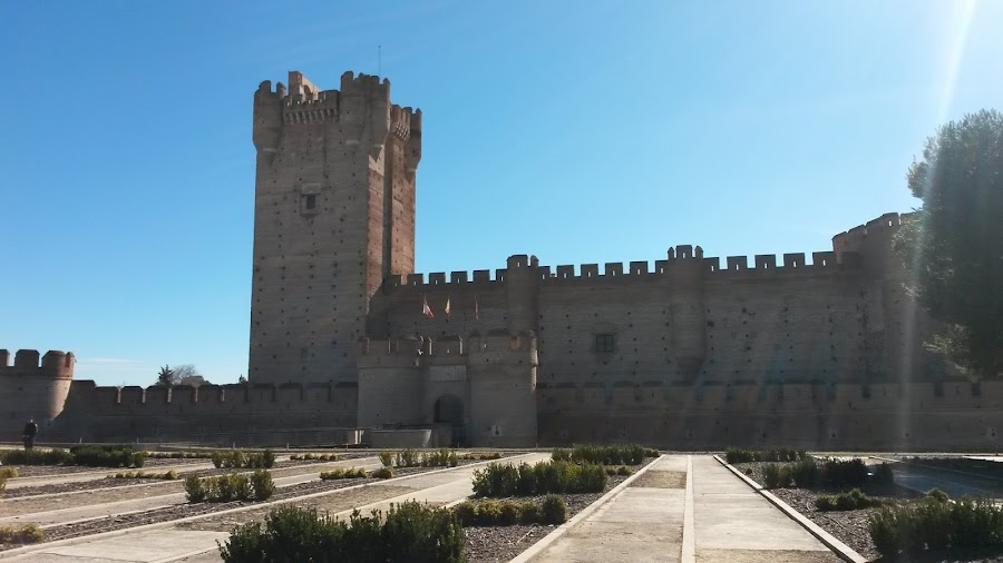 Castillo de la Mota, Medina del Campo, Valladolid lugar preferido de Isabel la Católica.