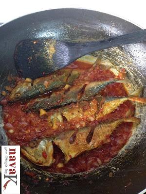 How to make Ikan Tiga Rasa - Step 9