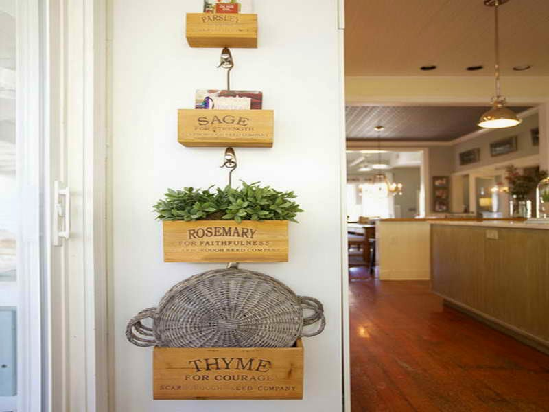 35 Creative Ideas For Decorating Kitchen Walls