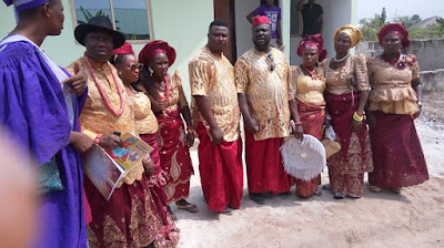 Mike Okri buries Mother in Style (photos)