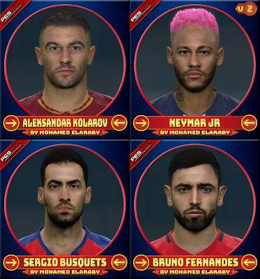 PES 2017 Facepack February 2020 by M.Elaraby Facemaker