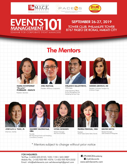 Event Management 101 2019