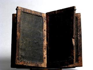 Tablilla romana de madera para escribir en ella