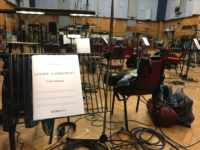 Wonders of the Cosmos: recording at Abbey Road Studios