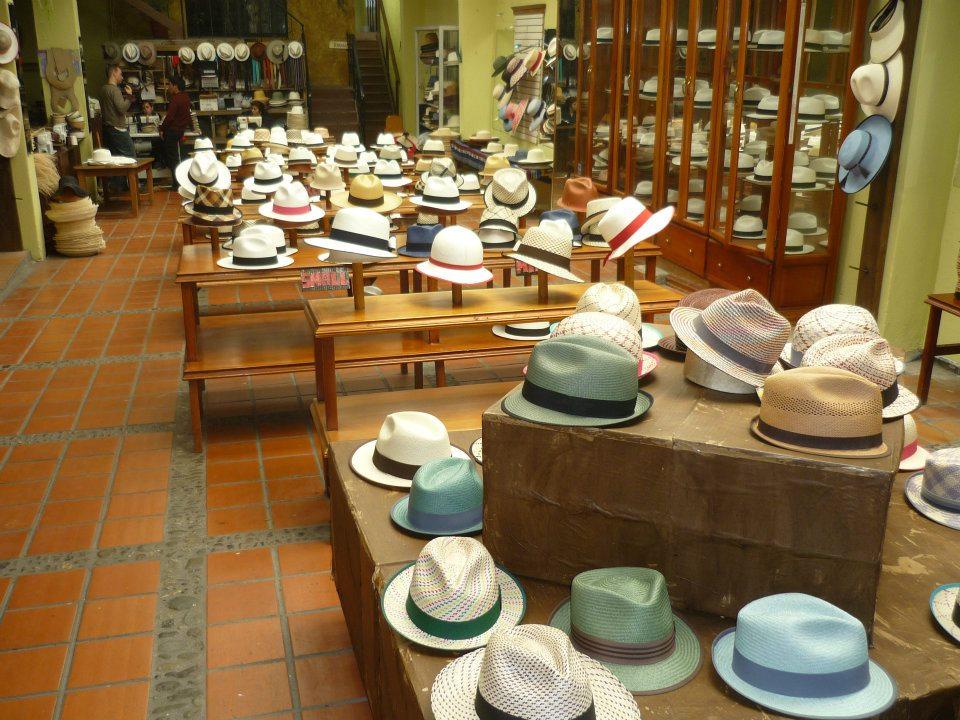 Museo del Sombrero de Paja Toquilla en Cuenca  0e6eac34946