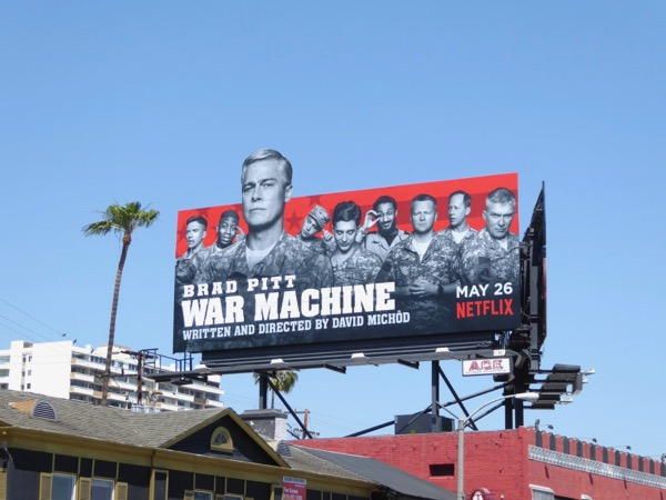 War Machine special extension cut out billboard