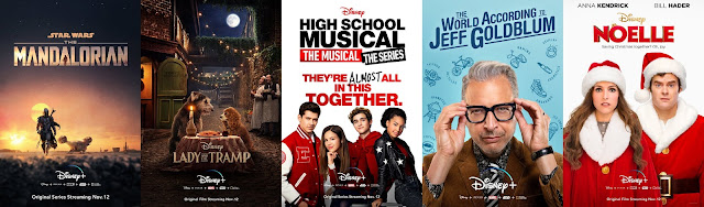 Disney+ Original Content Posters