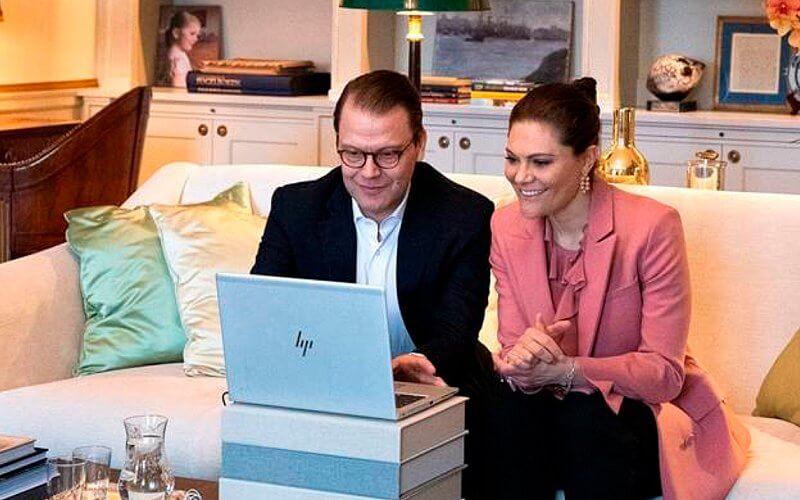 Crown Princess Victoria, Crown Princess Mette-Marit, Crown Princess Mary and Crown Prince Frederik