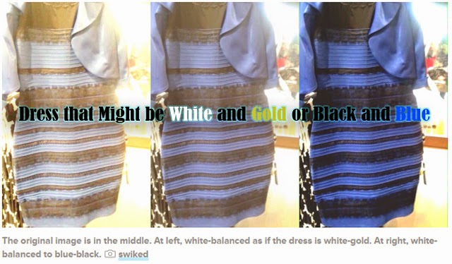 Celebrities and Netizens on Debate for Dress that Might be White and Gold or Black and Blue