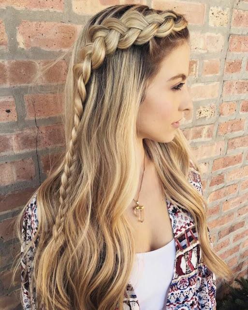 Golden Bride hairstyle