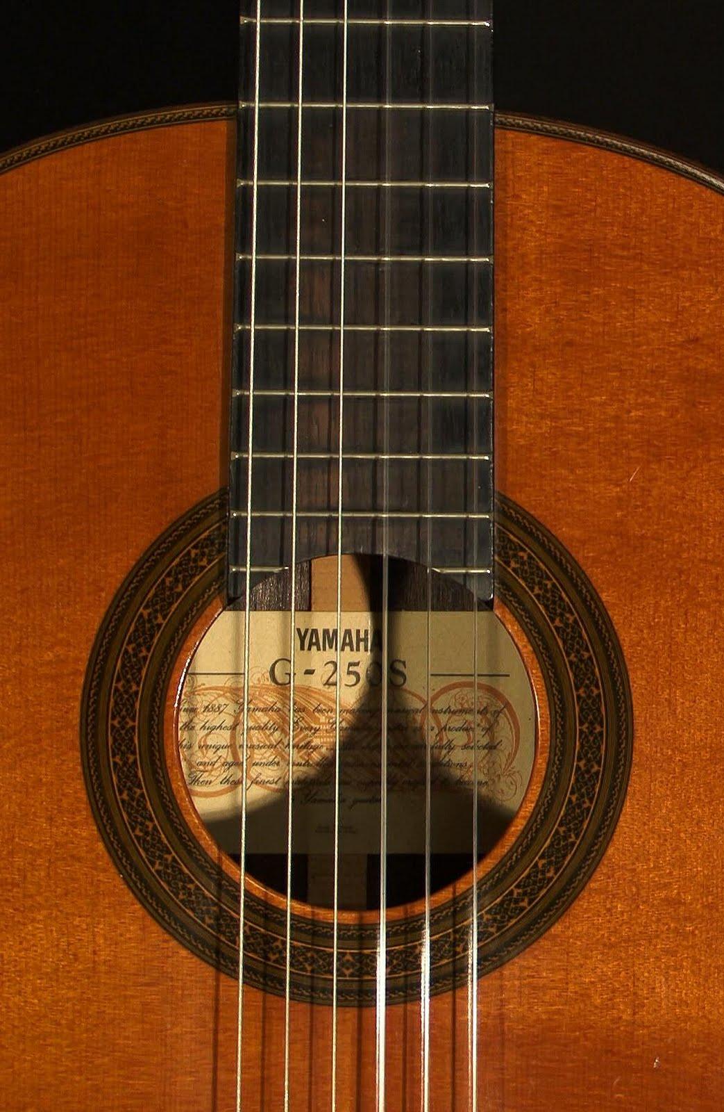 Yahoobuckaroo's Blog: The Yamaha G-250S Classical Guitar