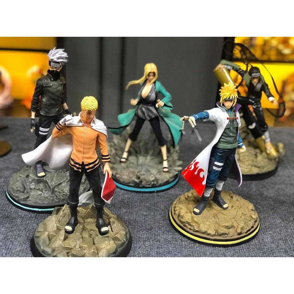 Mô Hình Naruto - Thất đại Hokage Đệ nhất, Đệ nhị, Đệ tam Sarutobi, Đệ tứ Minato, Kakashi, Tsunade