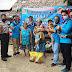 Karang Taruna,Gelar Bakti Sosial Bersama Polsek Bayung Lencir, PMI dan KNPI Salurkan Bantuan Sembako pada Warga Dampak Covid-19