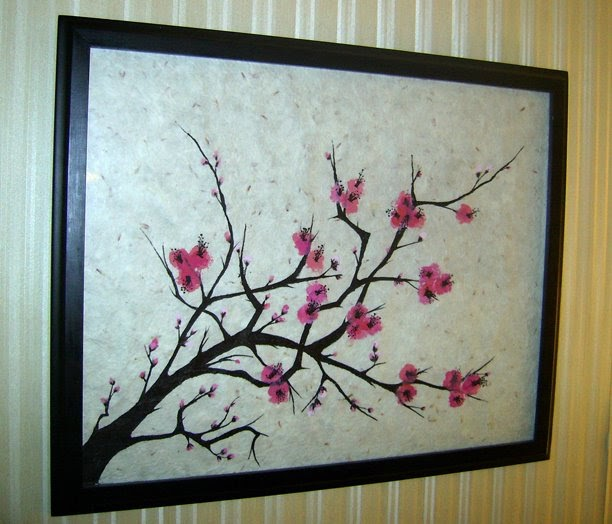 How To Price House Paint Jobs The Home Seller S Guide: Snazzle Craft: Cherry Blossoms