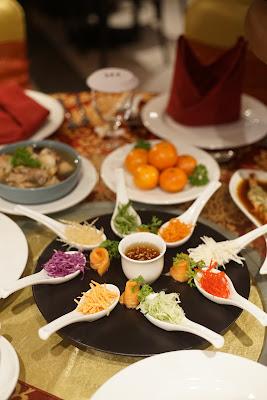 Yee Sang Salad ala Ibis Kitchen Pontianak