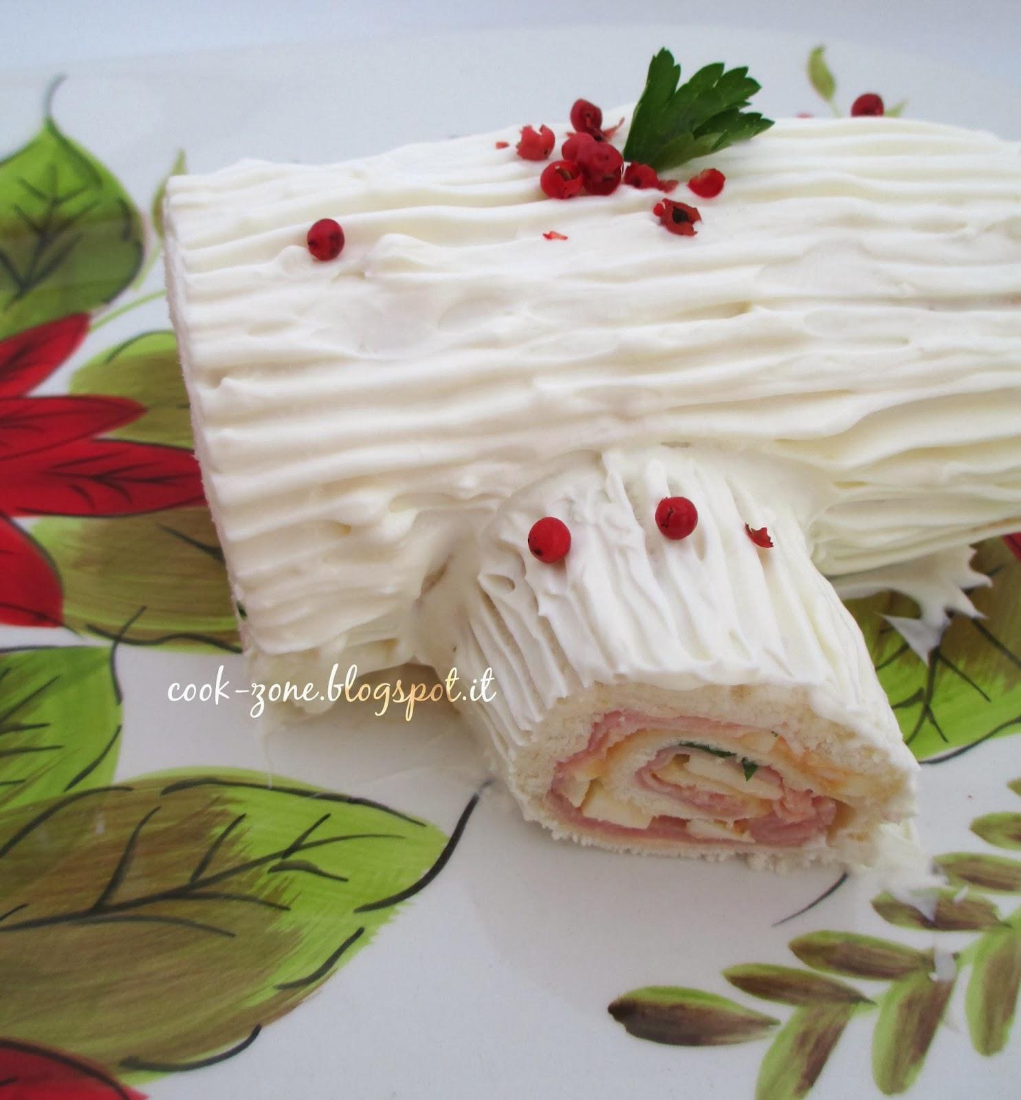 Tronchetto Di Natale Sale E Pepe.Cook Zone Une Buche De Noel Speciale Il Tronchetto Di Natale Salato