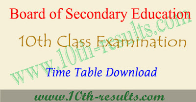 AP 10th time table 2018 , ap ssc exam date 2018