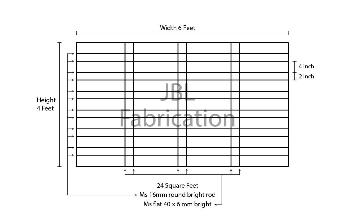 Jbl fabrication window grill workshop vasai west window for Window design ms
