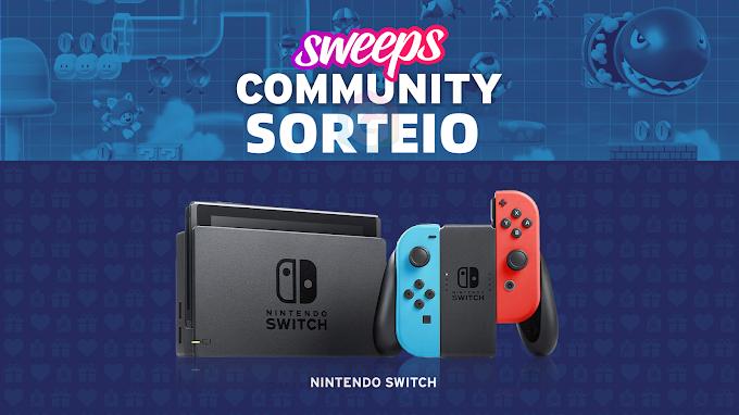 Sorteio de um Nintendo Switch