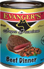 Picture of Evangers Gold Label Beef Dinner Canned Dog Food