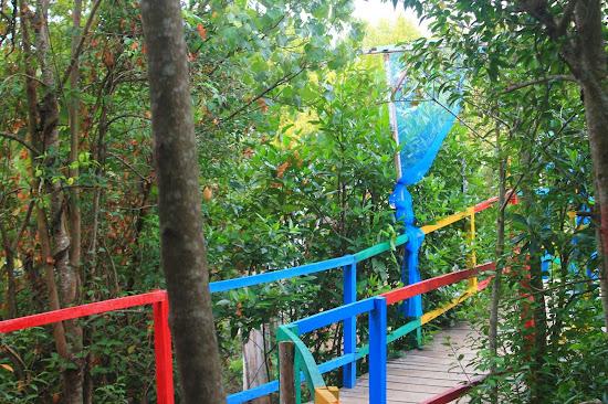 Pemandangan Mangrove Park bakau Besar 8 - Catatan Nizwar ID