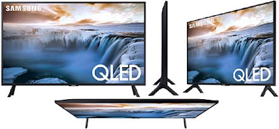 32-Inch Samsung QLED TV: 4K UHD Smart Television with 100% Color Volume - Supports Voice Control - QN32Q50RAFXZA: Electronics