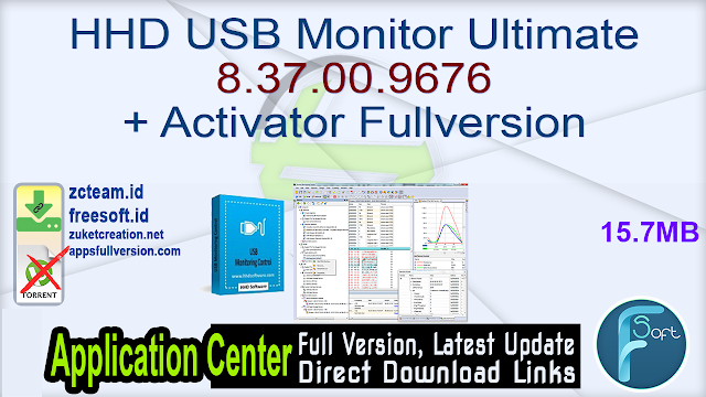 HHD USB Monitor Ultimate 8.37.00.9676 + Activator Fullversion