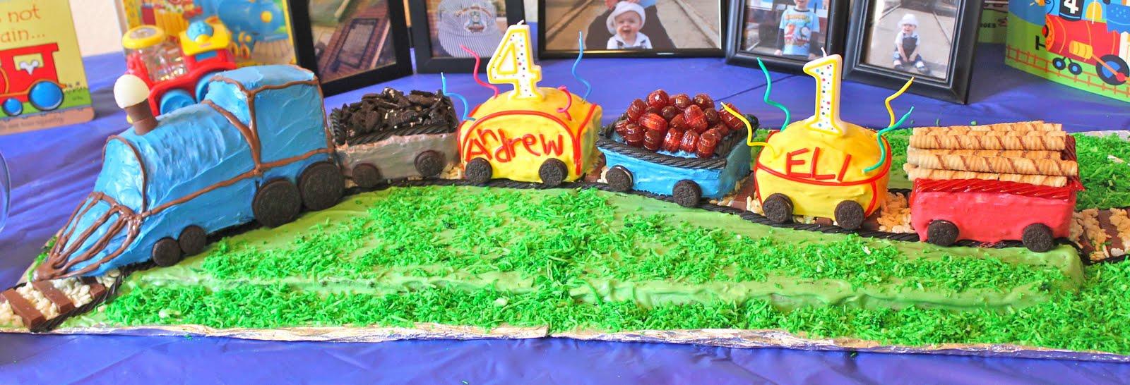 Train Cake Tutorial