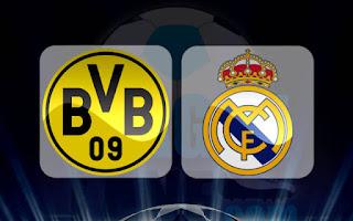 قناة مجانية عالمية ستبث مبارة ريال مدريد ضد بروسيا دورتموند