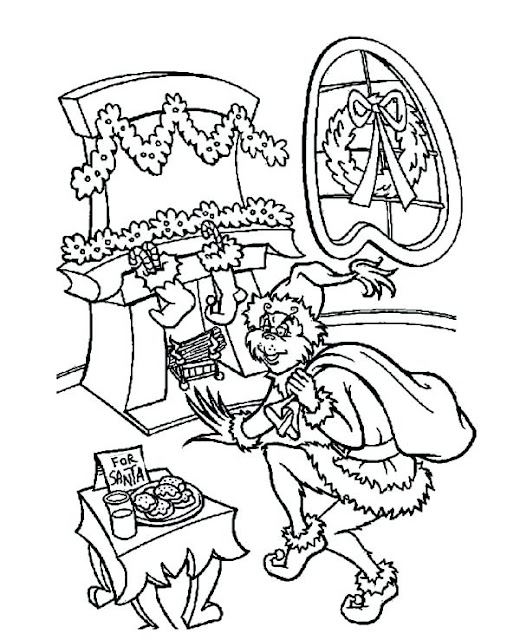 Coloring Pages: Grinch Coloring Pages Free and Downloadable
