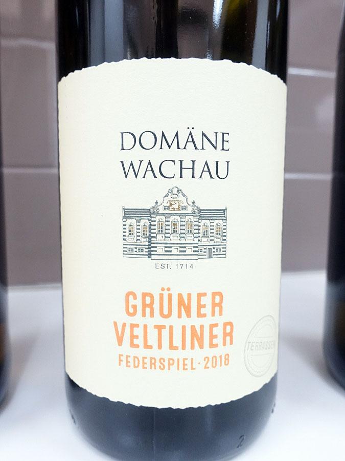 Domäne Wachau Terrassen Federspiel Grüner Veltliner 2018 (89 pts)